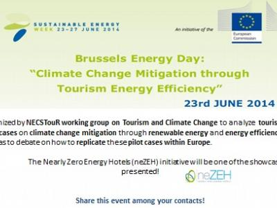 Energy Day on Tourism and Energy Efficiency