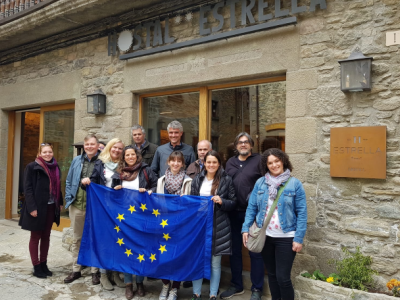 Creation of a transnational route with 10 European charming villages