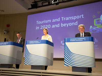 European Commission Tourism and Transport Press Conference