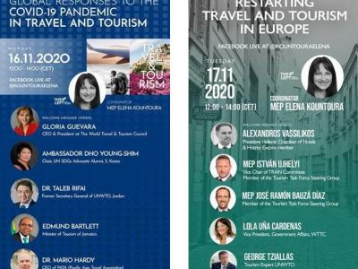 "Webinars ""Restarting Travel and Tourism after the COVID-19 pandemic"""