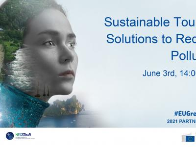 Webinar: Sustainable Tourism solutions to reduce pollution in the Mediterranean area